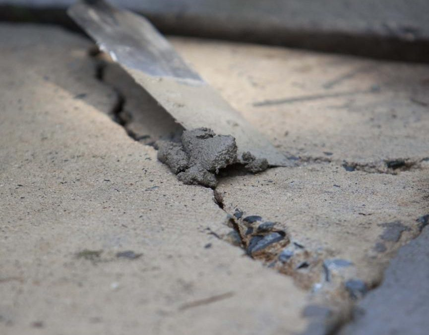 How To Repair Large Cracks In Concrete Driveway