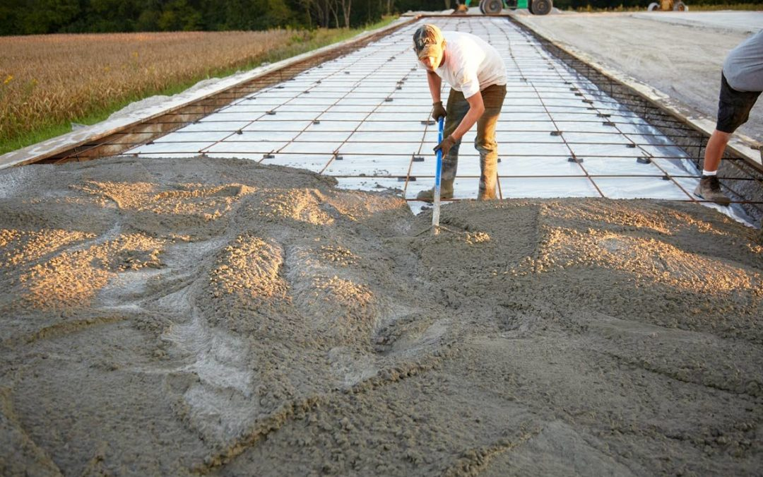 Pouring a Concrete Driveway or Walkway