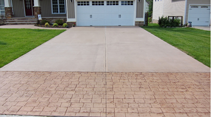 Proper Way On How To Stamped Concrete Driveway