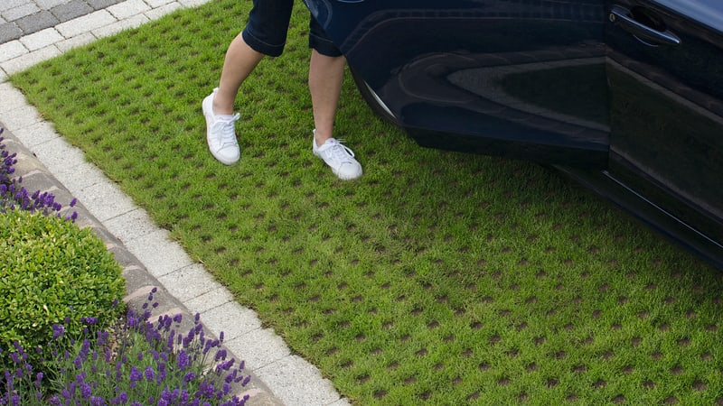 Grass Block Pavers: A Permeable and Sustainable