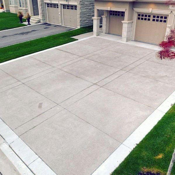 Average Price Range Guide Of Installing Concrete Driveway